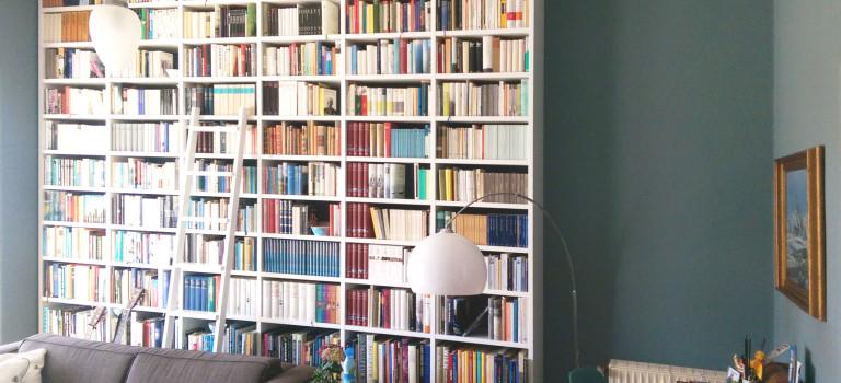 Bibliothek für 38 Laufmeter Bücher