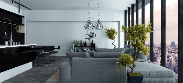 Struktur in der Wohnung und im Leben: Der minimalistische Wohnstil